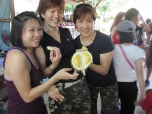 Membuat Lempok Durian